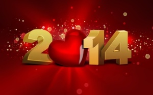 Happy New Year Heart 2014